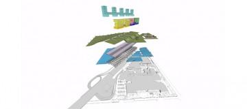 Parco tematico con complesso multifunzionale