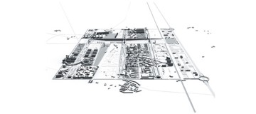 Masterplan for a new 30.000 inhabitants city, called VEMA