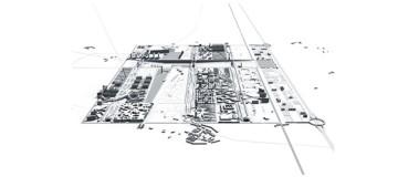 Masterplan di una nuova città da 30.000 abitanti, chiamata VEMA