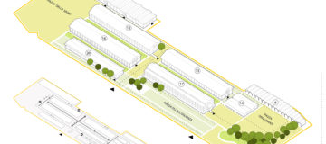 Masterplan Temporary Uses former freight-yard Ravone, Bologna